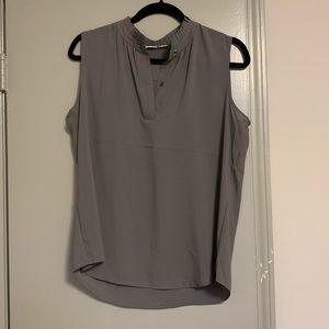Calvin Klein sleeveless blouse- size 10!